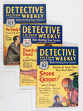 Pulps:Detective, Detective Fiction Weekly Group (Various, 1930-34) Condition:Average VG/FN.... (Total: 7 Items)