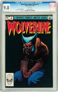 Wolverine (Limited Series) #3 (Marvel, 1982) CGC NM/MT 9.8 White pages