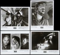 "The Abyss (20th Century Fox, 1989). Press Kit. Production Notes (63 Pages, 8.5"" X 11"") & Photos (4) (8&quo..."