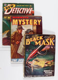 Pulps:Detective, Assorted Detective Pulps Group (Various, 1946-51) Condition:Average VG+.... (Total: 4 Comic Books)