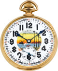 Timepieces:Pocket (post 1900), Illinois 23 Jewel Sangamo Special With Fancy Dial. ...