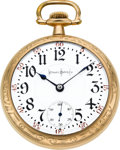 Timepieces:Pocket (post 1900), Illinois 24 Jewel 18 Size Bunn Special. ...