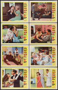 """Movie Posters:Comedy, Sex and the Single Girl (Warner Brothers, 1964). Lobby Card Set of 8 (11"""" X 14""""). Comedy.. ... (Total: 8 Items)"""