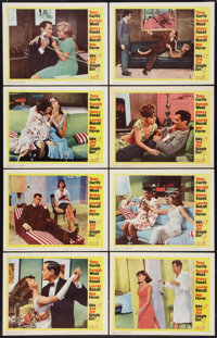 """Sex and the Single Girl (Warner Brothers, 1964). Lobby Card Set of 8 (11"""" X 14""""). Comedy. ... (Total: 8 Items)"""