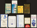 Baseball Collectibles:Tickets, 1971-2001 Kansas City Royals and Chiefs Great Moments Tickets StubsLot of 9....