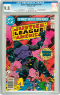 Modern Age (1980-Present):Superhero, Justice League of America #185 (DC, 1980) CGC NM/MT 9.8 Whitepages....