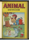 Golden Age (1938-1955):Funny Animal, Animal Comics #20-26 Bound Volume (Dell, 1946-47)....