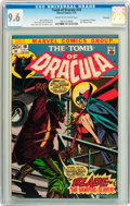 Bronze Age (1970-1979):Horror, Tomb of Dracula #10 Savannah pedigree (Marvel, 1973) CGC NM+ 9.6Cream to off-white pages....