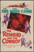 "Movie Posters:Western, The Redhead and the Cowboy (Paramount, 1951). One Sheet (27"" X 41""). Western.. ..."
