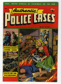 Golden Age (1938-1955):Crime, Authentic Police Cases #24 (St. John, 1952) Condition: FN/VF....
