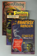 Pulps:Science Fiction, Avon Fantasy Reader #1-18 Group (Avon, 1947-52) Condition: AverageFN.... (Total: 18 Items)