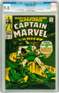 Silver Age (1956-1969):Superhero, Captain Marvel #3 Twin Cities pedigree (Marvel, 1968) CGC NM/MT 9.8 Off-white to white pages....