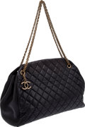Luxury Accessories:Bags, Chanel Black Quilted Lambskin Bag with Bijoux Strap and CC Charm....