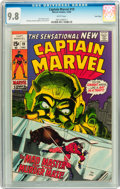 Silver Age (1956-1969):Superhero, Captain Marvel #19 Twin Cities pedigree (Marvel, 1969) CGC NM/MT 9.8 White pages....