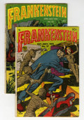 Golden Age (1938-1955):Horror, Frankenstein Comics #24 and 27 Group (Prize, 1953).... (Total: 2Comic Books)