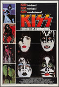 "Movie Posters:Rock and Roll, KISS Meets the Phantom of the Park (NBC, 1978). Argentinean Poster(29"" X 43""). Rock and Roll.. ..."