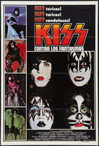 """KISS Meets the Phantom of the Park (NBC, 1978). Argentinean Poster (29"""" X 43""""). Rock and Roll"""