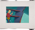 Animation Art:Limited Edition Cel, The New Adventures of Flash Gordon Production Cel withBackground Animation Art (Filmation, 1979)....