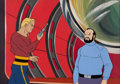 Animation Art:Limited Edition Cel, New Adventures of Flash Gordon Animation Cel Set-up Original Art (Filmation, 1979)....