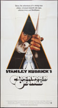"Movie Posters:Science Fiction, A Clockwork Orange (Warner Brothers, 1971). International ThreeSheet (41"" X 76""). Science Fiction.. ..."