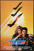 "Movie Posters:Action, Top Gun (Paramount, 1986). International One Sheet (27"" X 40"").Action.. ..."