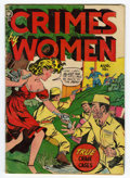 Golden Age (1938-1955):Crime, Crimes by Women #15 (Fox Features Syndicate, 1951) Condition: GD/VG....