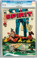 Golden Age (1938-1955):Crime, The Spirit #15 Mile High pedigree (Quality, 1949) CGC NM+ 9.6 Off-white to white pages....
