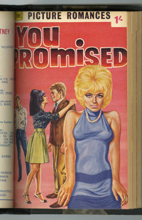 Newnes Picture Romances Bound Volumes (George Newnes, Ltd., 1961-67).... (Total: 16 Comic Books)