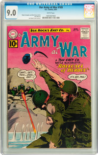 Our Army at War #109 (DC, 1961) CGC VF/NM 9.0 White pages
