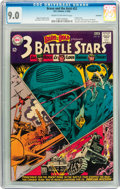 Silver Age (1956-1969):War, The Brave and the Bold #52 - 3 Battle Stars - Savannah pedigree (DC, 1964) CGC VF/NM 9.0 Cream to off-white pages....
