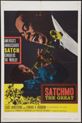 """Movie Posters:Musical, Satchmo The Great (United Artists, 1957). One Sheet (27"""" X 41""""). Musical.. ..."""