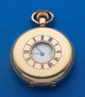 Timepieces:Pocket (post 1900), Waltham 16 Size Demi-Hunter Case Pocket Watch. ...