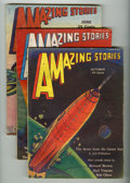 Pulps:Science Fiction, Amazing Stories Box Lot (Ziff-Davis, 1928-33) Condition: AverageVG-....
