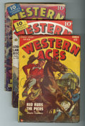 Pulps:Western, Assorted Western Pulps Group (Various, 1937-49) Condition: Average VG+.... (Total: 16 Items)