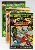 Bronze Age (1970-1979):Superhero, Marvel Team-Up Short Box Group (Marvel, 1972-84)....