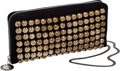 Luxury Accessories:Bags, Stella McCartney Rare Black Studded Clutch. ...