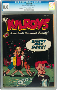 The Kilroys #1 (ACG, 1947) CGC VF 8.0 Cream to off-white pages