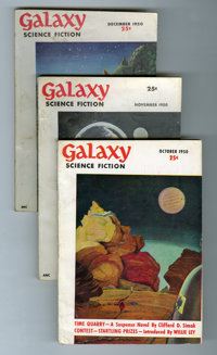Galaxy Box Lot (Universal Publishing, 1951-63) Condition: VG/FN.... (Total: 2 Box Lots)