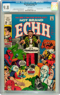 Silver Age (1956-1969):Humor, Not Brand Echh #12 Twin Cities pedigree (Marvel, 1969) CGC NM/MT 9.8 White pages....