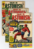 Golden Age (1938-1955):Horror, Tales to Astonish Group (Marvel, 1963-64).... (Total: 4 ComicBooks)