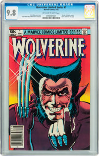 Wolverine (Limited Series) #1 (Marvel, 1982) CGC NM/MT 9.8 Off-white to white pages