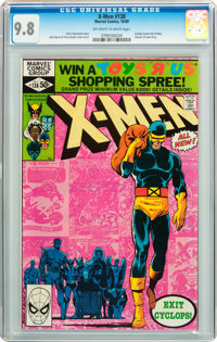 X-Men #138 (Marvel, 1980) CGC NM/MT 9.8 Off-white to white pages