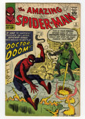 Silver Age (1956-1969):Superhero, The Amazing Spider-Man #5 (Marvel, 1963) Condition: VG-....