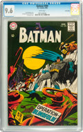 Silver Age (1956-1969):Superhero, Batman #204 Twin Cities pedigree (DC, 1968) CGC NM+ 9.6 White pages....