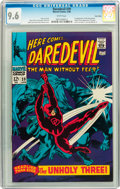 Silver Age (1956-1969):Superhero, Daredevil #39 Twin Cities pedigree (Marvel, 1968) CGC NM+ 9.6 White pages....