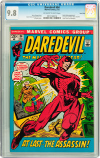 Daredevil #84 Twin Cities pedigree (Marvel, 1972) CGC NM/MT 9.8 Off-white to white pages
