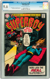 Superboy #166 Twin Cities pedigree (DC, 1970) CGC NM+ 9.6 Off-white to white pages