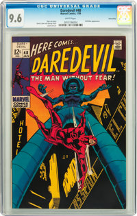 Daredevil #48 Twin Cities pedigree (Marvel, 1969) CGC NM+ 9.6 White pages