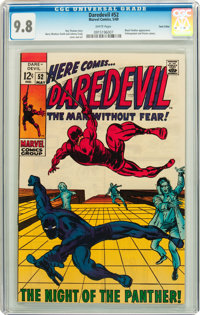 Daredevil #52 Twin Cities pedigree (Marvel, 1969) CGC NM/MT 9.8 White pages