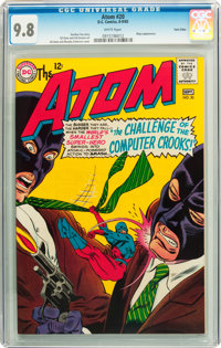 The Atom #20 Twin Cities pedigree (DC, 1965) CGC NM/MT 9.8 White pages